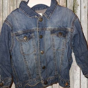 Gap denim infant jacket